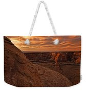 Sunset Over The Rim Of Canyon De Weekender Tote Bag