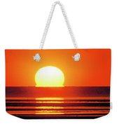 Sunset Over Tidal Flats Weekender Tote Bag