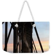 Sunset Pier California 3 Weekender Tote Bag