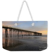 Sunset Pier  California 5 Weekender Tote Bag