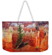 Sunset Point Trees Weekender Tote Bag