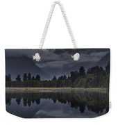 Sunset Reflection Of Lake Matheson Weekender Tote Bag by Colin Monteath