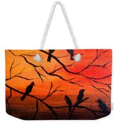 Sunset Secrets Weekender Tote Bag