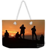 Sunset Silouettes Weekender Tote Bag