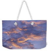 Sunset Sky Over Nipomo, California Weekender Tote Bag