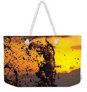 Sunset Splash 3 Weekender Tote Bag