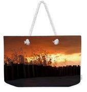 Sunset Splash 4 Weekender Tote Bag
