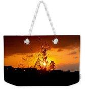 Sunset Splash 5 Weekender Tote Bag