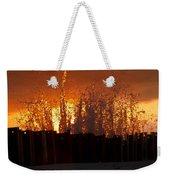 Sunset Splash 6 Weekender Tote Bag