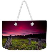 Sunset Stumps Weekender Tote Bag