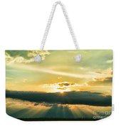 Sunset Sunbeams Weekender Tote Bag