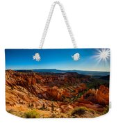 Sunset Sunrise Weekender Tote Bag by Chad Dutson