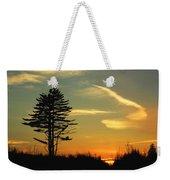 Sunset Tree Weekender Tote Bag