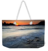 Sunset Uncovered Weekender Tote Bag