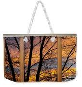 Sunset Window View Weekender Tote Bag