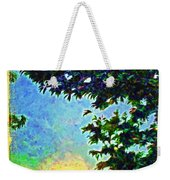 Sunset With Leaves Weekender Tote Bag