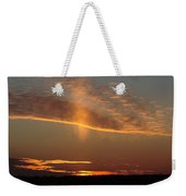 Sunset With Mist Weekender Tote Bag