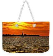 Sunset Xi Weekender Tote Bag