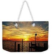 Sunset Xv Weekender Tote Bag