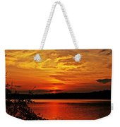 Sunset Xxiv Weekender Tote Bag