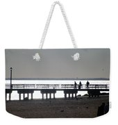 Sunsets On Coney Island Pier Weekender Tote Bag