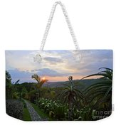 Sunsetting Over Costa Rica Weekender Tote Bag