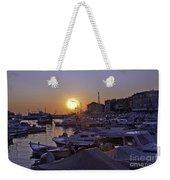 Sunsetting Over Rovinj 1 Weekender Tote Bag