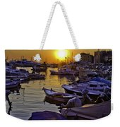 Sunsetting Over Rovinj 2 Weekender Tote Bag