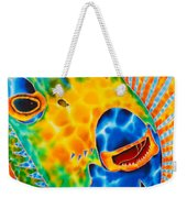 Sunshine Angelfish Weekender Tote Bag by Daniel Jean-Baptiste