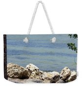 Sunshine Skyway From The Causeway Weekender Tote Bag