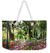 Sunshine Through Savannah Park Trees Weekender Tote Bag
