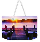 Sunup Over Rock Creek Weekender Tote Bag