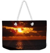 Superior Sunset Weekender Tote Bag