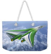 Supersonic Aircraft Design Weekender Tote Bag