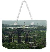 Supertrees At The Gardens By The Bay In Singapore Weekender Tote Bag