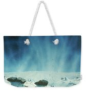 Surface Of A Comets Nucleus Weekender Tote Bag
