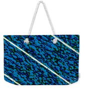 Surface Of A Solar Photocell Weekender Tote Bag