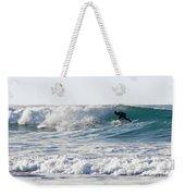 Surfers At Porthtowan Cornwall Weekender Tote Bag