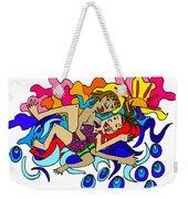 Surfers In Love Weekender Tote Bag