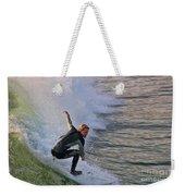 Surfin' The Wave Weekender Tote Bag