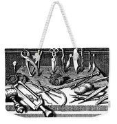 Surgical Equipment, 16th Century Weekender Tote Bag