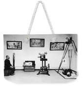 Surveillance Equipment, 19th Century Weekender Tote Bag by Science Source