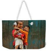 Survival Of The Fittest Weekender Tote Bag