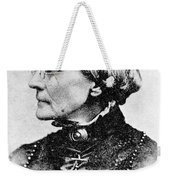Susan B. Anthony, American Civil Rights Weekender Tote Bag by Photo Researchers, Inc.