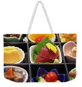 Sushi Art Weekender Tote Bag