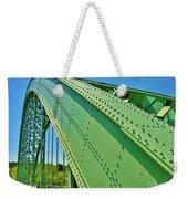 Suspension Bridge Weekender Tote Bag