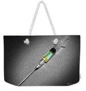 Suspicious Looking Syringe Weekender Tote Bag