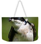Swallow Weekender Tote Bag