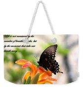Swallowtail Card Weekender Tote Bag