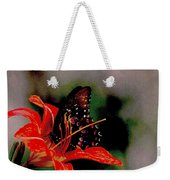 Swallowtail On Orange Weekender Tote Bag